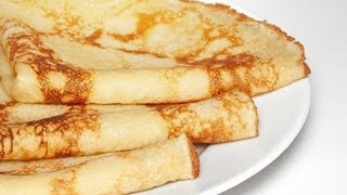 How  To Make Crepes  -  Easy And Fast
