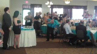 A Must See... Bridesmaid In Wear A Tuxedo, And Bestman Is Wearin A Dress...