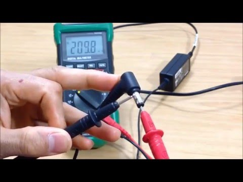 How To Check Laptop Charger With Multimeter