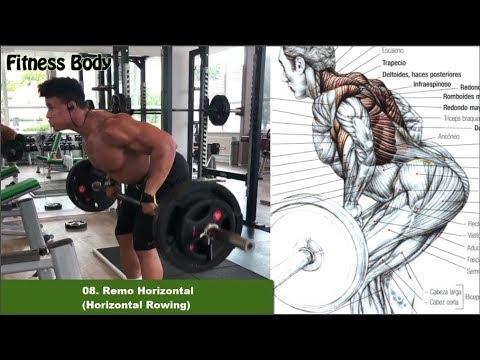 8 Ejercicios que puedes realizar con Barra, Bar Workout