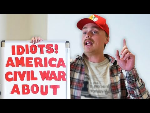 people who argue what the civil war was about-Gus Johnson