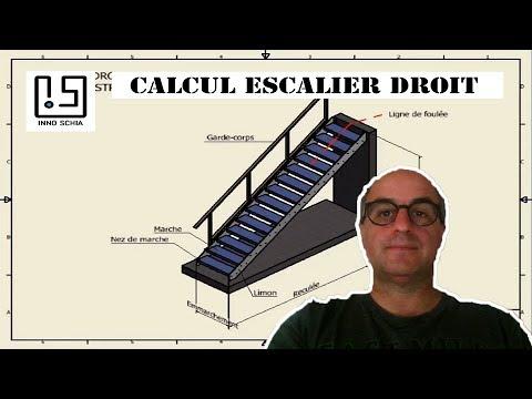 Calcul escalier droit. Déterminez la hauteur de marche en fonction de la hauteur à franchir.  - 0 - Comment mettre en valeur son escalier d' intérieur