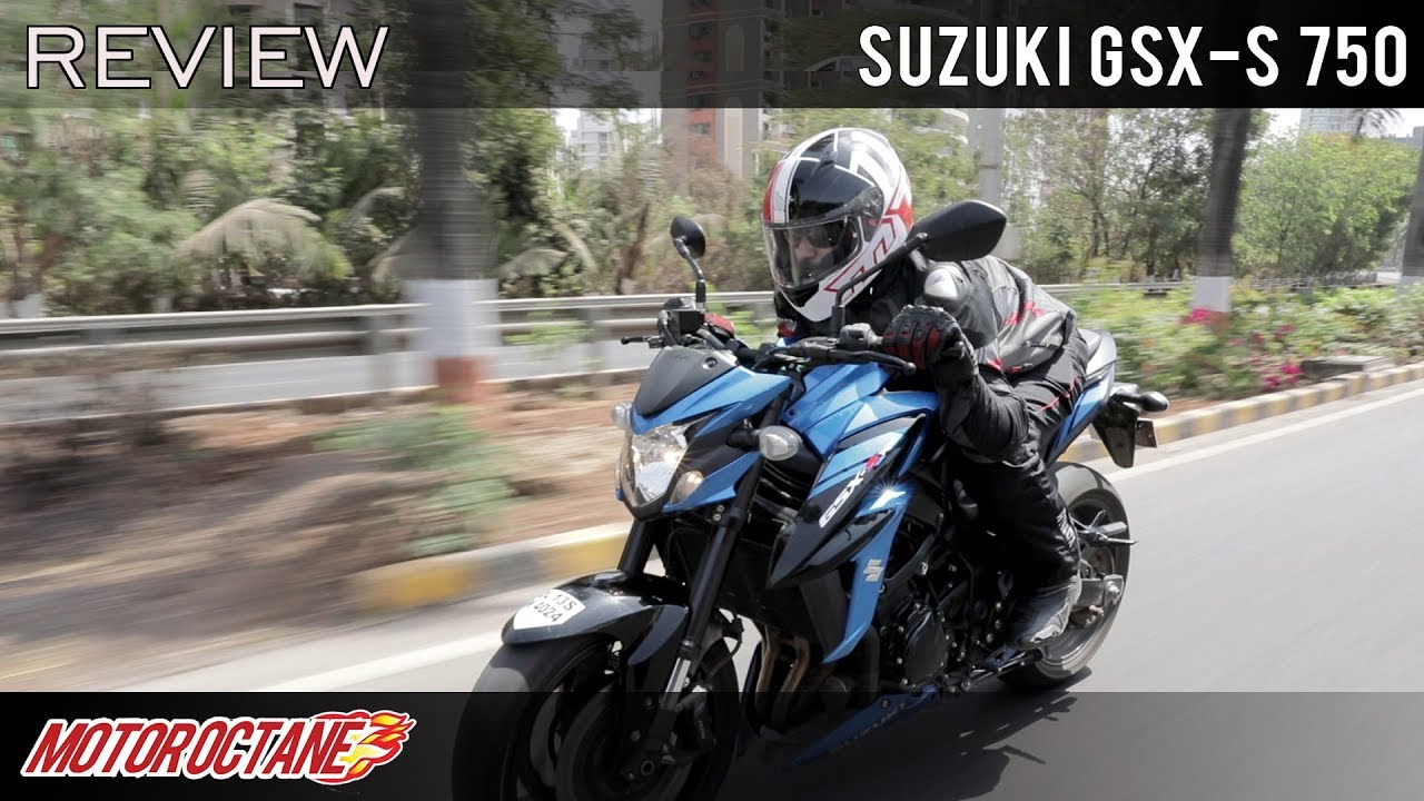 Motoroctane Youtube Video - Best 4-cylinder bike? Suzuki GSX S 750 Review | Hindi | MotorOctane