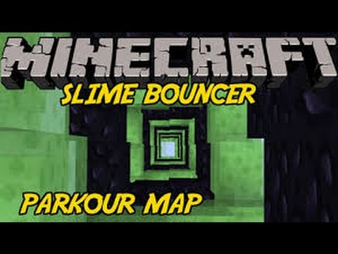 Minecraft | Bouncer Speed Slime Parkour | NO SCROLL???