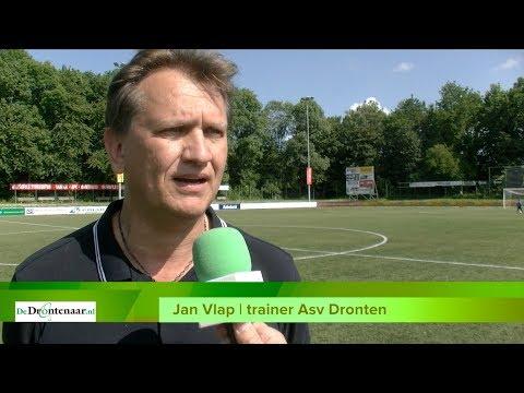 VIDEO | De vraag bij Asv Dronten: Zit Jan Vlap straks nog één wedstrijd op de bank?