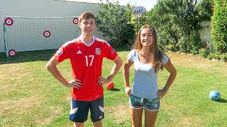 FORFEIT FOOTBALL vs MY SISTER