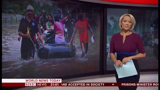 Extreme weather 2018 - More than the monsoon (India) - BBC News - 17th August 2018