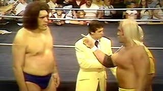 WWE Classics- Andre The Giant meets Hulk Hogan - YouTube