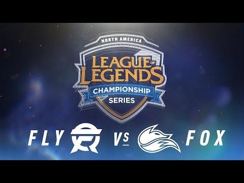 FLY vs. FOX - Week 9 Day 1 | NA LCS Spring Split | FlyQuest vs. Echo Fox (2018)