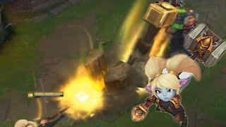 LoL Poppy Ability Rework Update - League of Legends Champion Spotlight