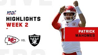 Patrick Mahomes POPS OFF for 4 TDs & 443 Yards! | NFL 2019 Highlights