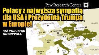 Polacy z najwyższą sympatią dla USA i Prezydenta Trumpa w Europie! SERWIS INFORMACYJNY 2020.01.10
