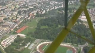 preview picture of video 'Zamość z góry  i okolice - lot Jak-12M == Zamosc and around the top - flight of Yak-12M'
