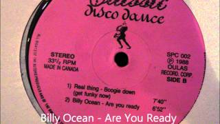 Billy Ocean - Are You Ready video