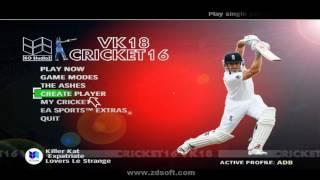 Virat Kohli 18 Cricket 16 (EA SPORTS ONLY FOR KOHLI FANS,Special Game)