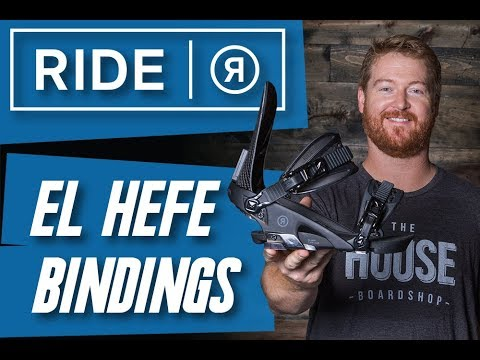 2018 Ride El Hefe Snowboard Binding – Review – TheHouse.com