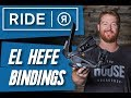 Ride El Hefe Snowboard Bindings - video 1