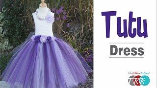 How To Make A Tutu Dress - TheRibbonRetreat.com