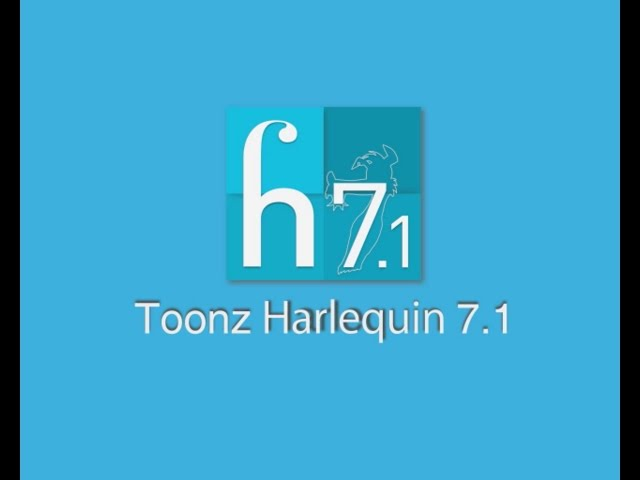 Toonz Harlequin 7.1 - General demo