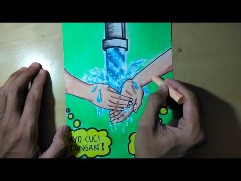تحميل Poster Kesehatan Cuci Tangan بجودة عالية - يلا اسمع