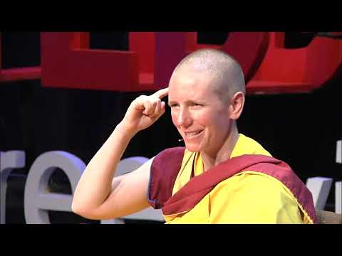 The Happiness is all in your mind: Gen Kelsang Nyema at TEDxGreenville
