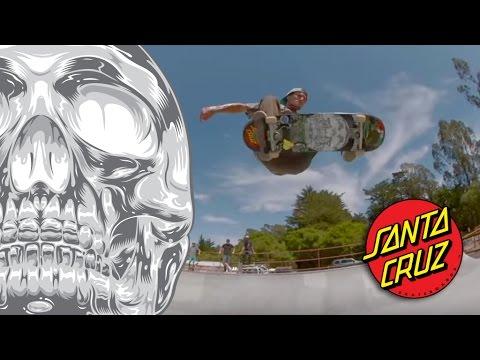 Eman Skates with Death at McGregor Skatepark