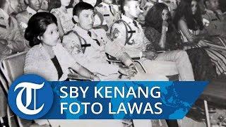 Saat SBY Kenang Mendiang Ani Yudhoyono lewat Foto Lawas saat Pertama Kali Bertemu