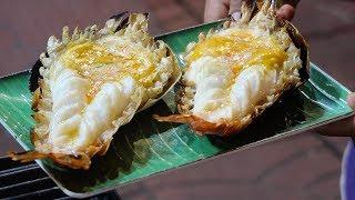 Bangkok Street Food - Thai Giant Prawn