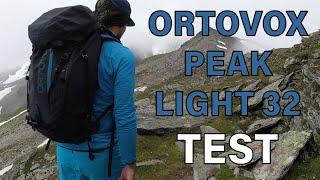 ORTOVOX PEAK LIGHT 32 - super leichter Hochtouren Rucksack? | DER TEST / Review