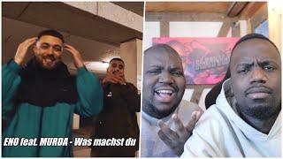 BLACKBROS REAGIEREN AUF:  ENO feat. MURDA - Was machst du (Official Video)