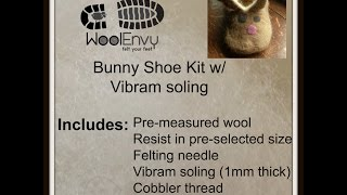 Introduction To Felted Bunny Slippers