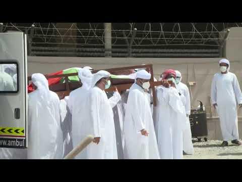 تشييع جثمان الشيخ حمدان بن راشد