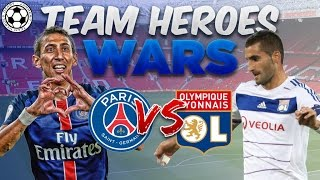 10 PSG/LYON TEAM HEROES PACKS | TEAM HEROES PACK WARS ! | FIFA MOBILE