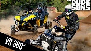 Formula Off-Road vs Quad On Dirt in 360 VIDEO!