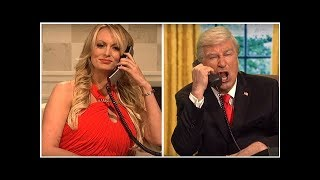 Stormy Daniels Makes Surprise 'Saturday Night Live' Cameo In Star-Studded Cold Open Mocking Donal...