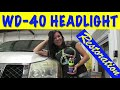 Download WD-40 & Bug Spray Headlight Restoration - Does That Really Work? HD Mp4 3GP Video and MP3