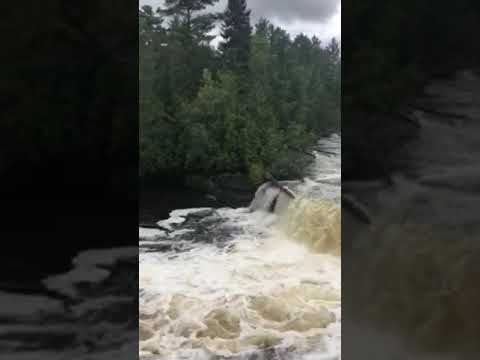 Video Of Lower Falls - Tahquamenon Falls State Park, MI