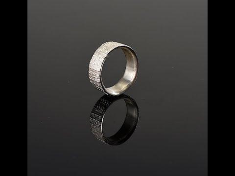 Seeigel- Silberring