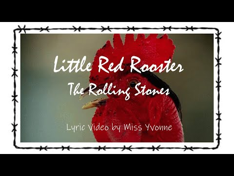 The Rolling Stones - LITTLE RED ROOSTER (Lyric Video)