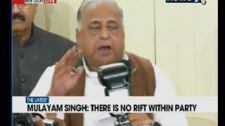 Akhilesh May Be CM But I Am The Party Chief Mulayam Singh