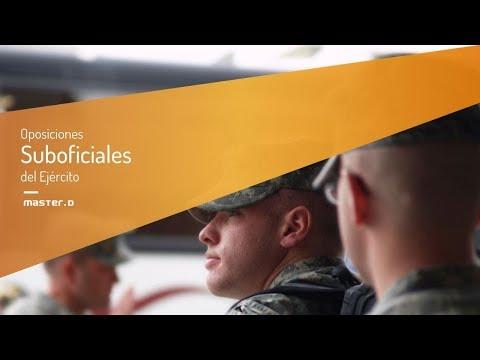Oposiciones Suboficiales del Ejército de Oposiciones Suboficiales del Ejército en MasterD