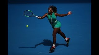 The Serena-tard makes waves at the Australian Open