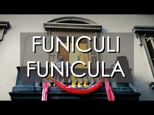 Funiculi Funicula - Festa Major de Sarriá 2018