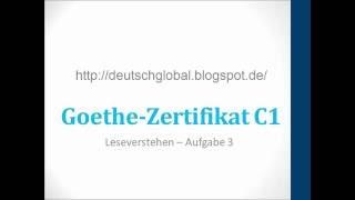 скачать Zertifikat C1 Modellsatz Hören смотреть онлайн видео