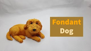 How to Make a Realistic Fondant Cockapoo Dog