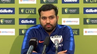 MS Dhoni is a guiding light for this Indian side - Rohit Sharma