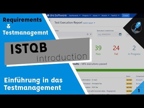 Requirements and Testmanagement Lecture Part 1 | Einführung nach ISTQB