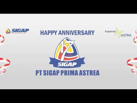 Ucapan selamat ulang tahun SIGAP KE 17