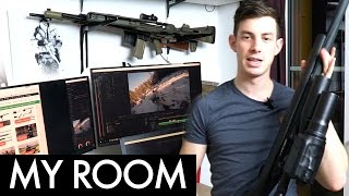 My Room - Novritsch Airsoft Studio Tour (+ mini Giveaway)