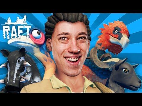 Das große FINALE mit neuen Tieren! | Raft